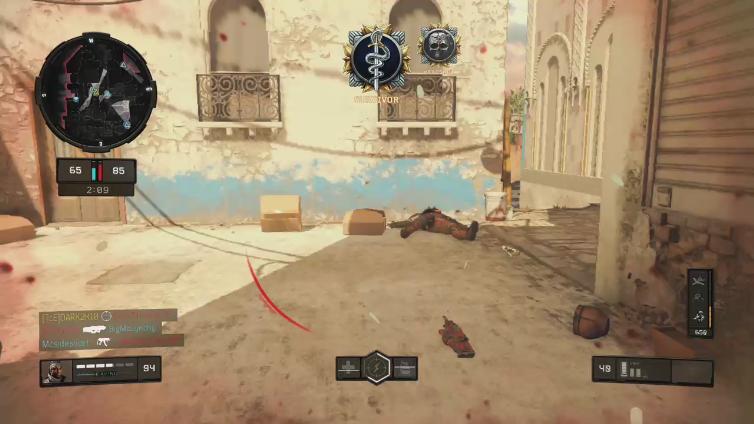 DARK2K10 playing Call of Duty: Black Ops 4