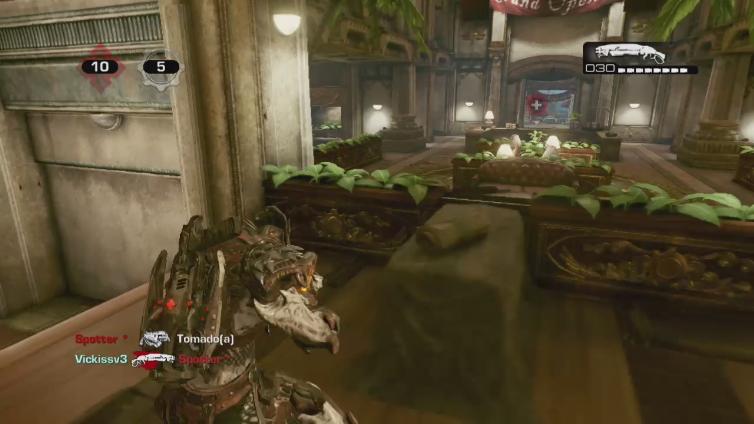 DesperateMetal playing Gears of War 3