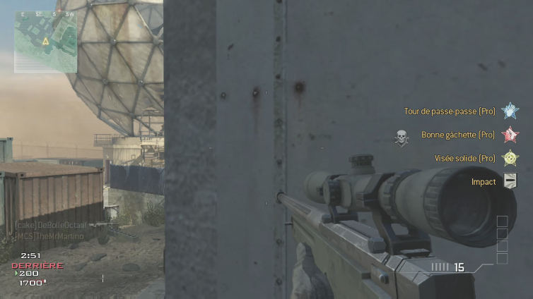 TheMrMartino playing Call of Duty: Modern Warfare 3